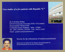HOMOEOPATHIC TREATMENTS